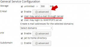 Confirmation dialog that SMTP is enabled via Manage Users.